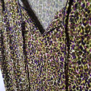 Liz Claiborne Multicolored Short Sleeve Top